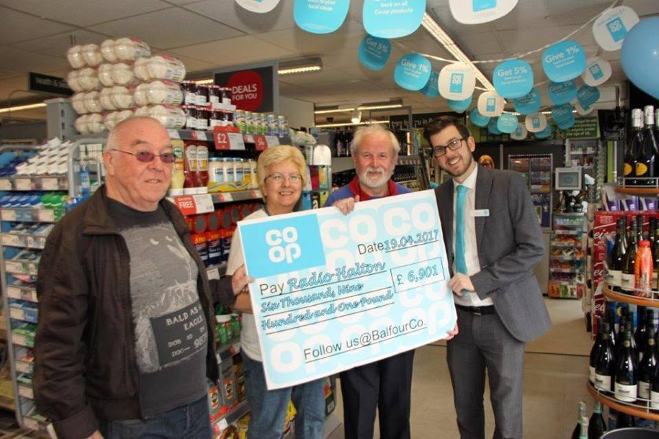 Co-op cheque